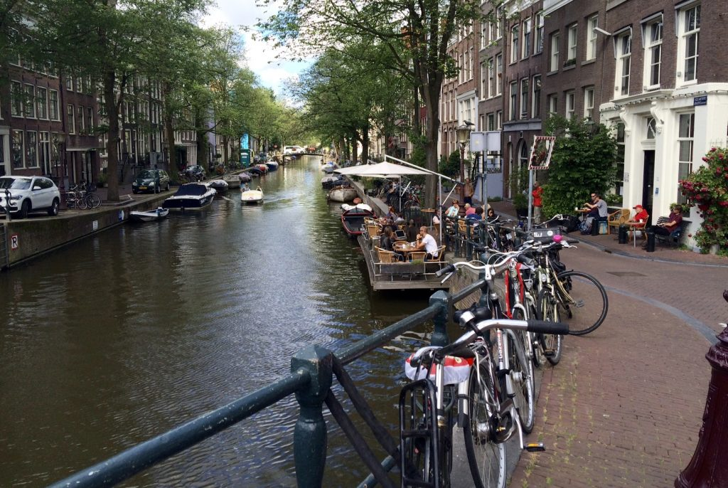 Canals help define the city
