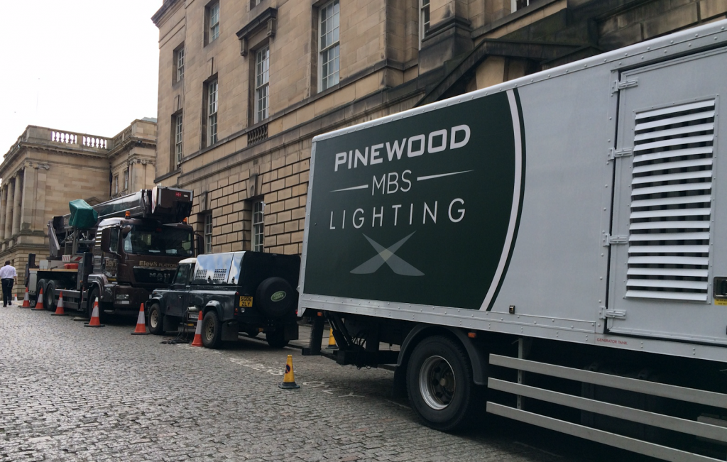 Pinewood film movie Edinburgh Avengers
